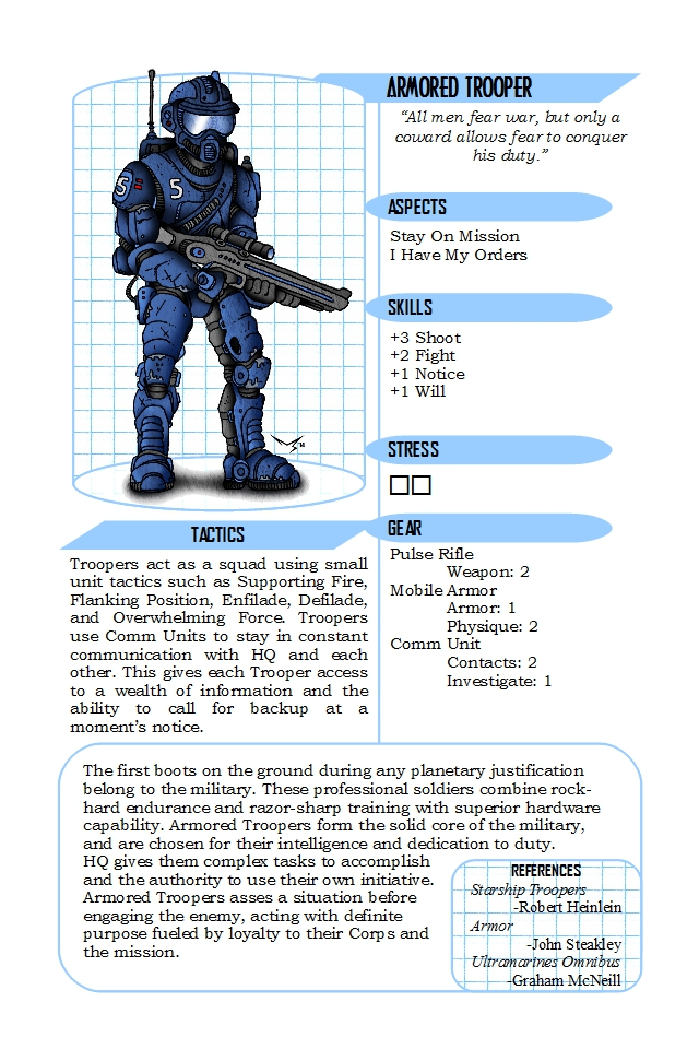 Armored Trooper Entry
