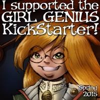 Girl Genius Kickstarter